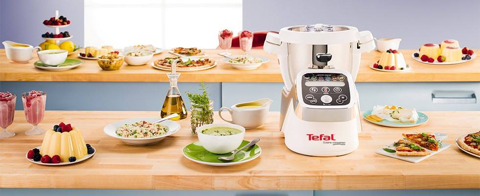 Tefal Cuisine Companion on kitchen desk